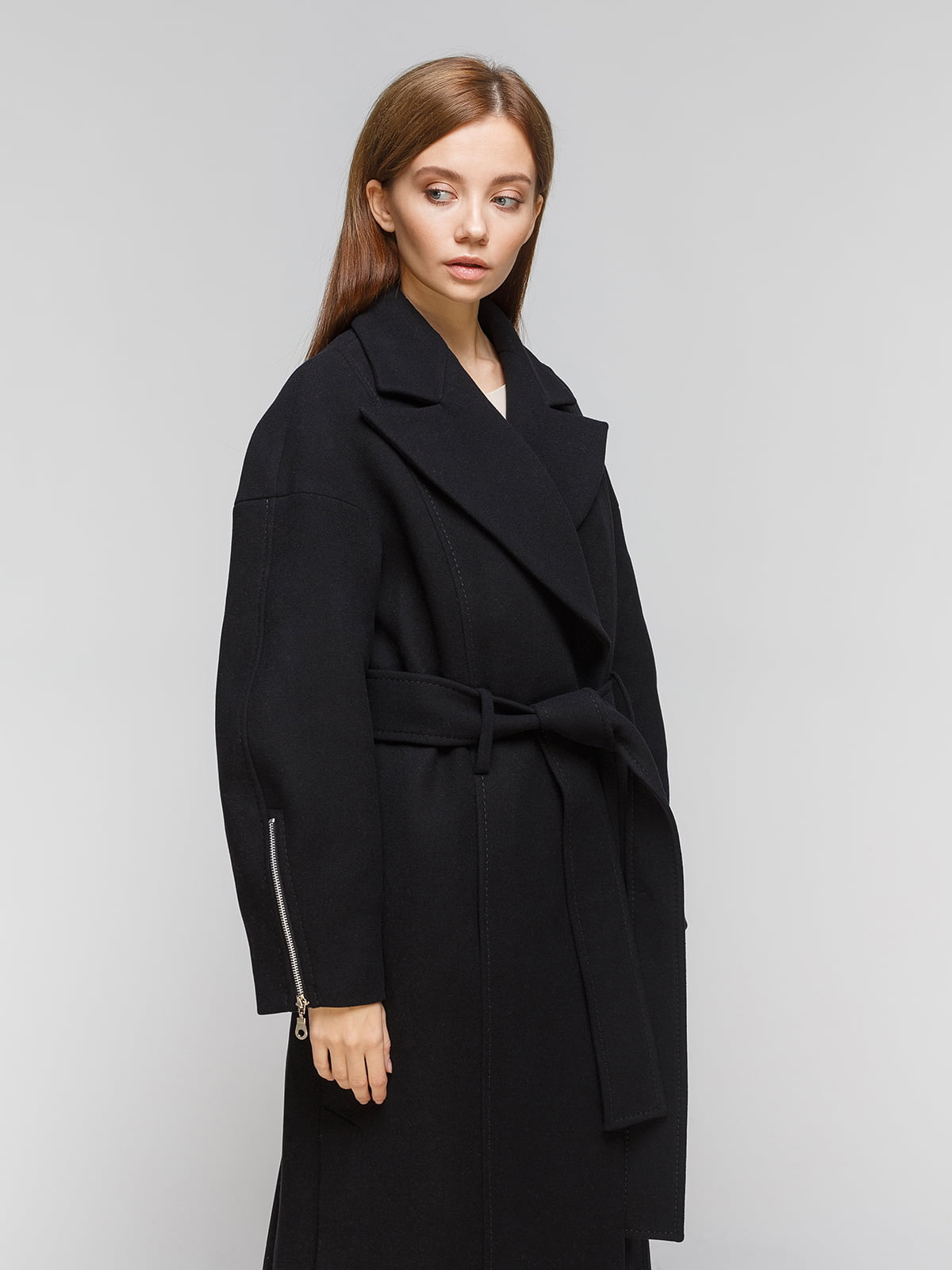 Пальто чорне | 5211220