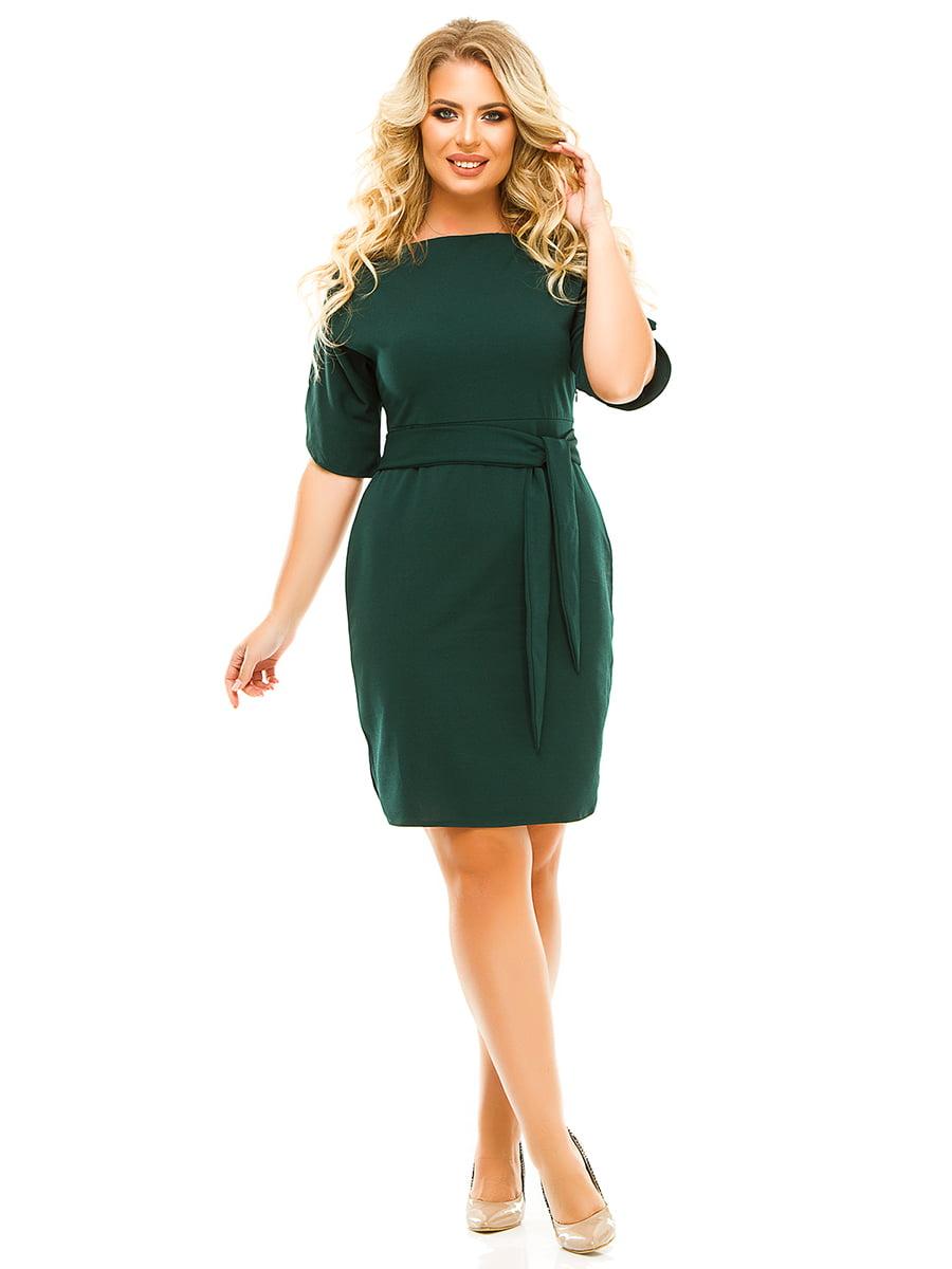 Платье зеленое   5215506