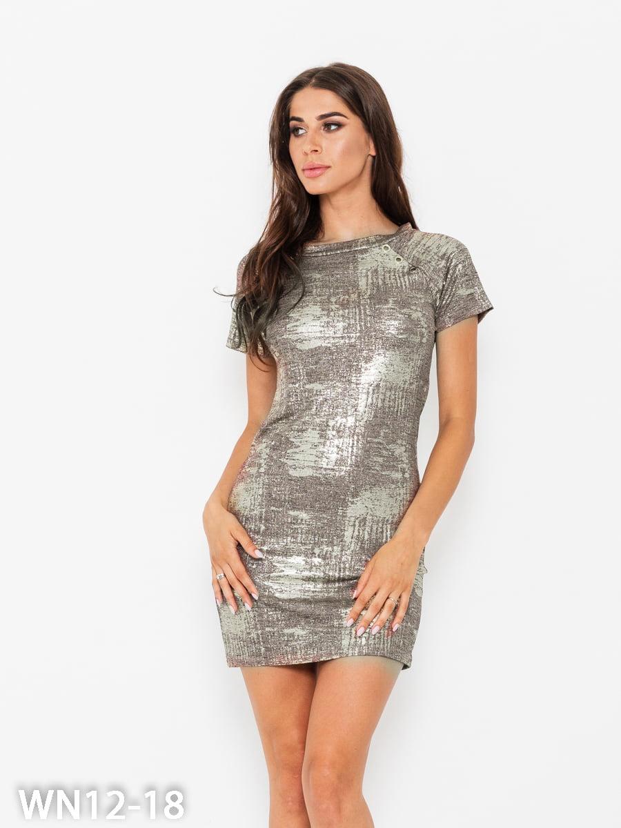 Платье коричневое | 5200585