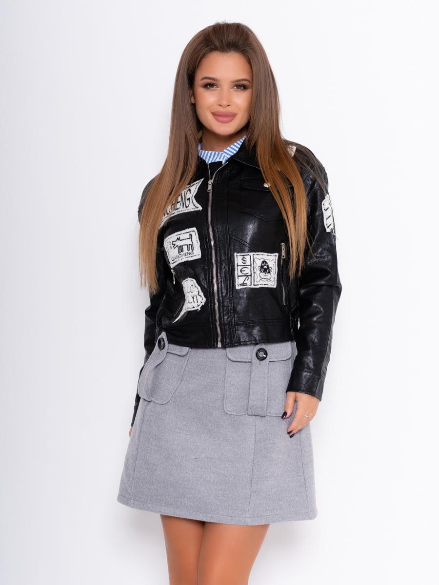Куртка чорна | 5209157
