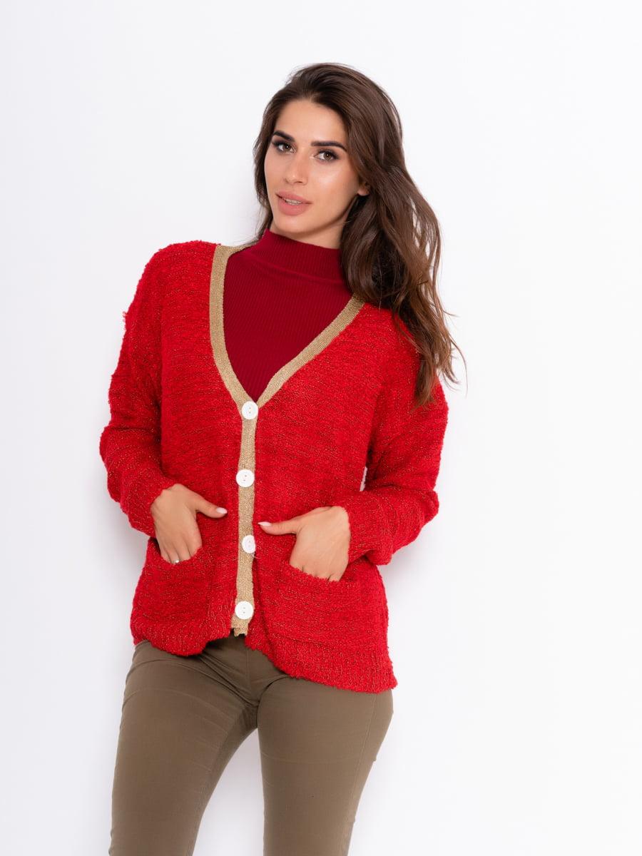 Кофта червона | 5209160