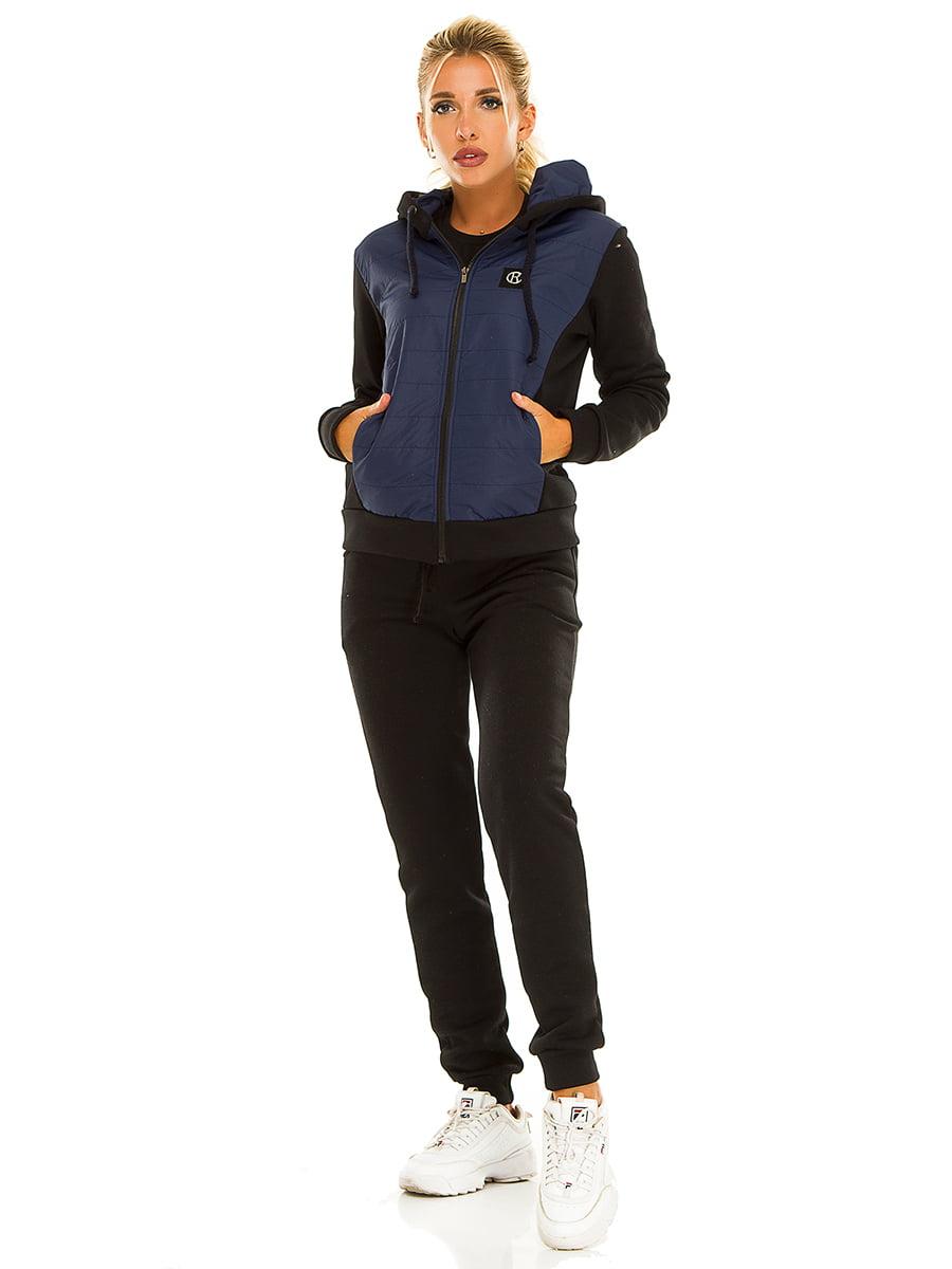 Костюм спортивный: толстовка и брюки | 5215553