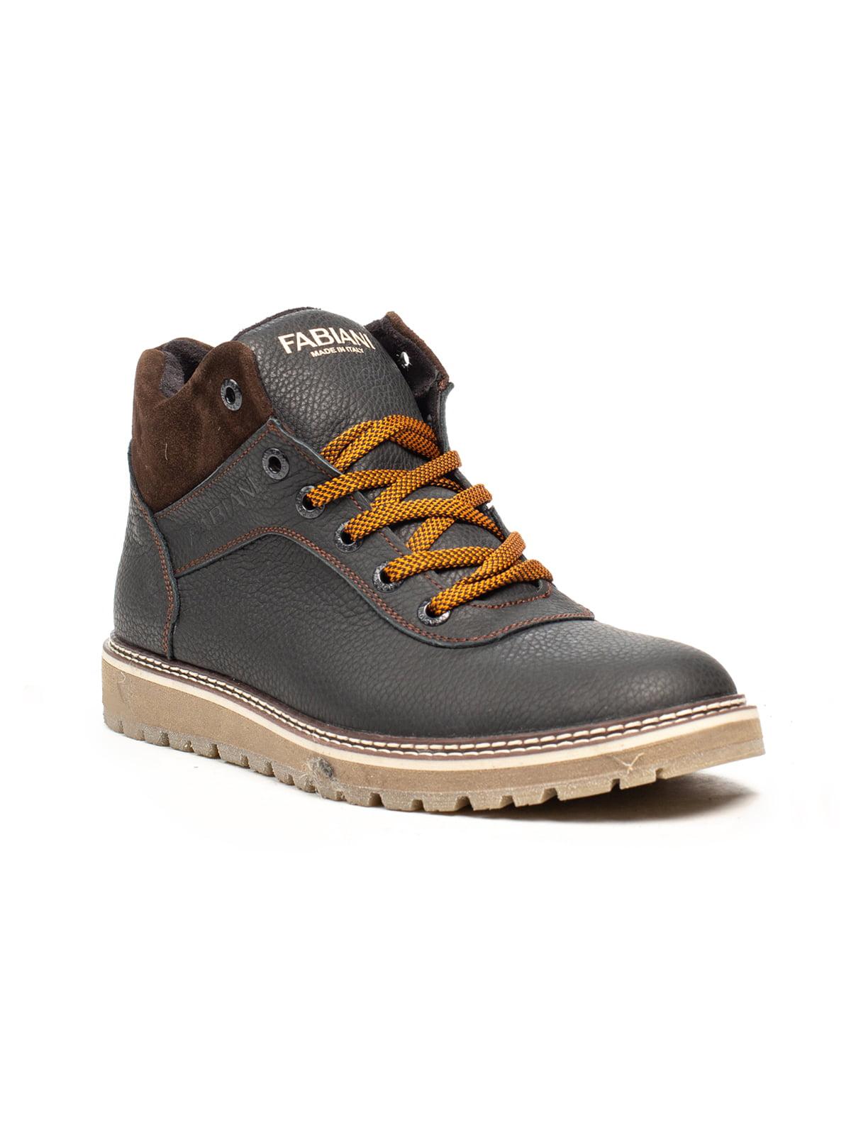 Ботинки черно-коричневые | 5209221
