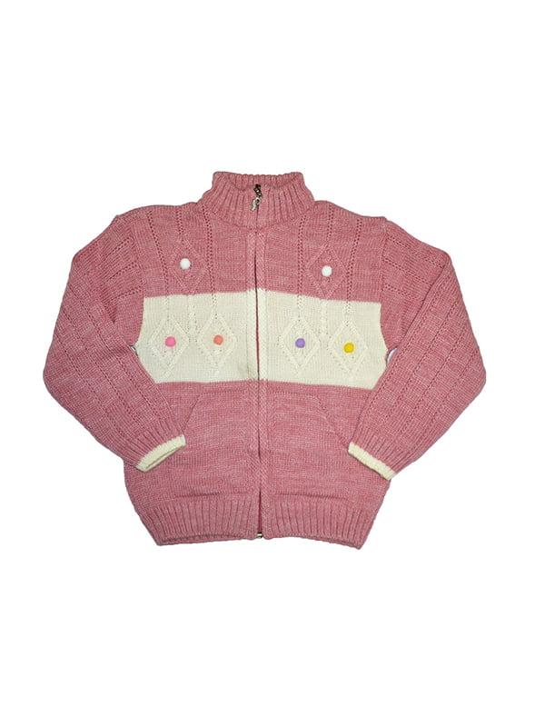 Кофта перлово-рожевого кольору | 5216620