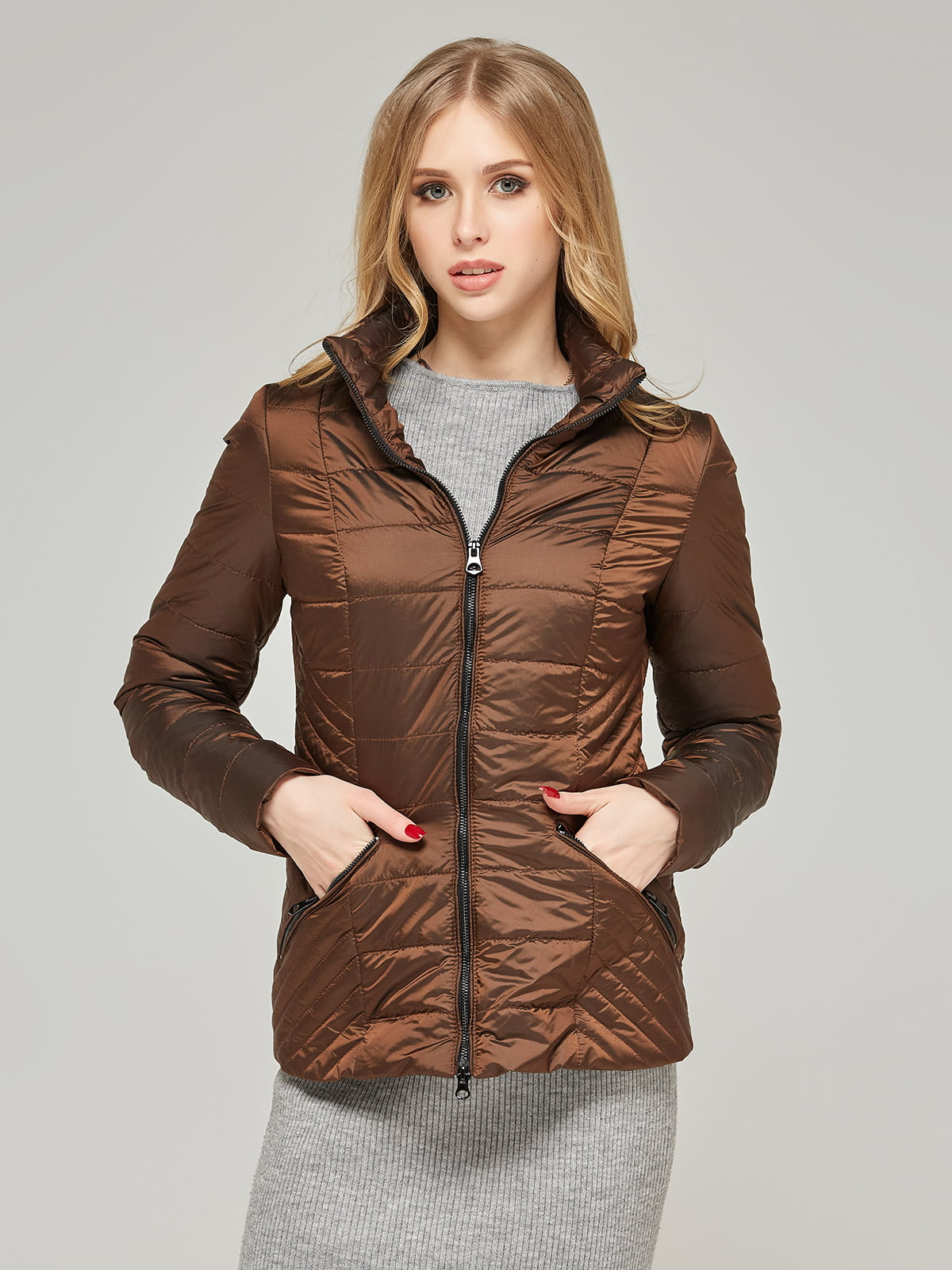 Куртка шоколадного кольору | 5216117