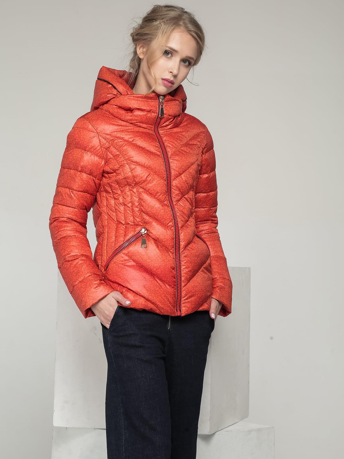 Куртка теракотового кольору | 5216148