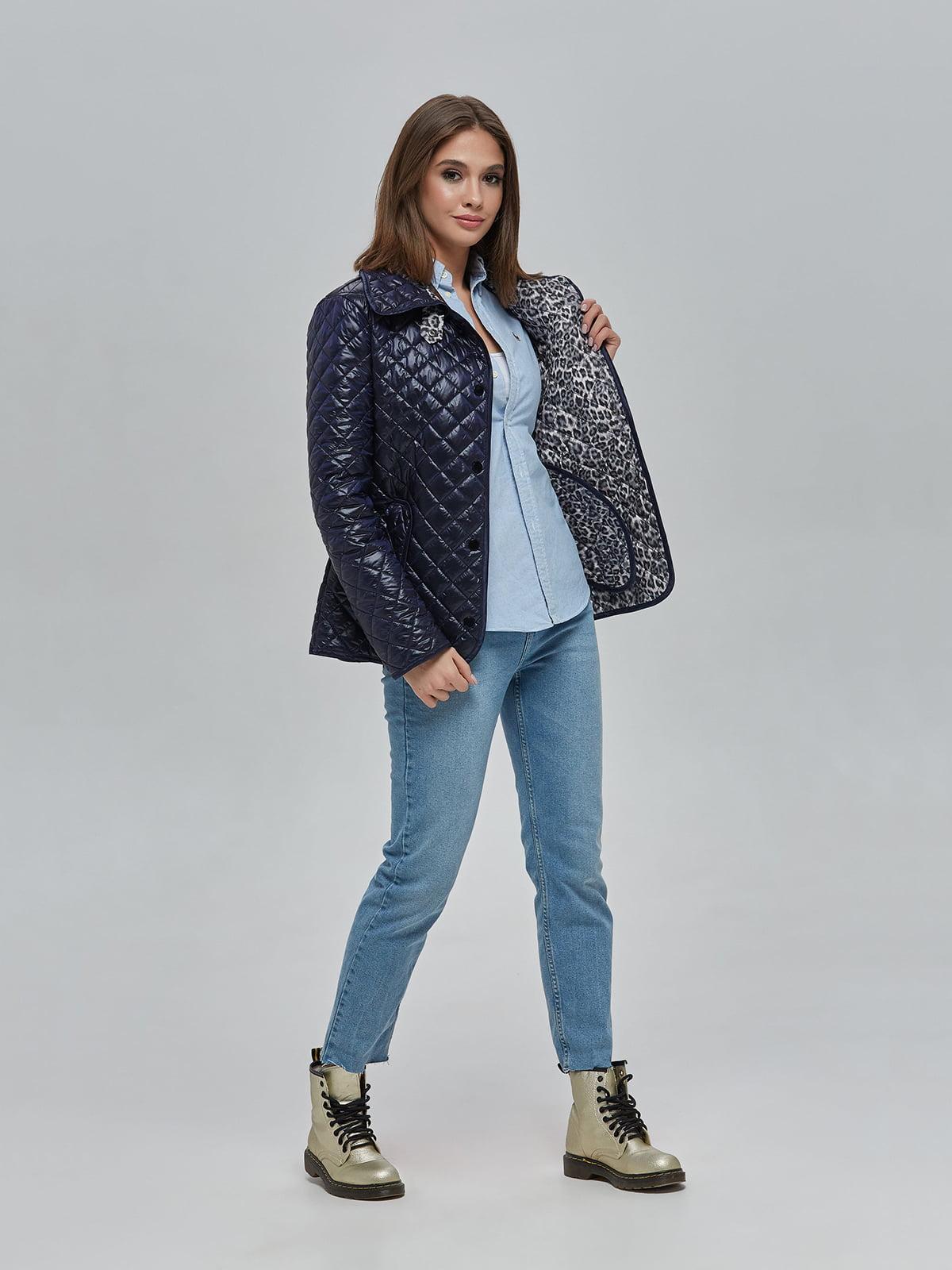 Куртка синя | 5216094