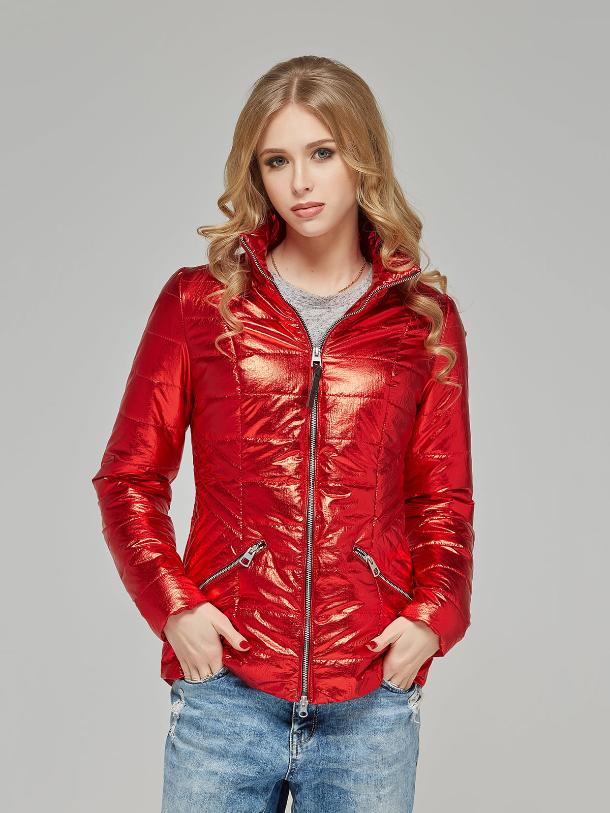 Куртка червона | 5216115