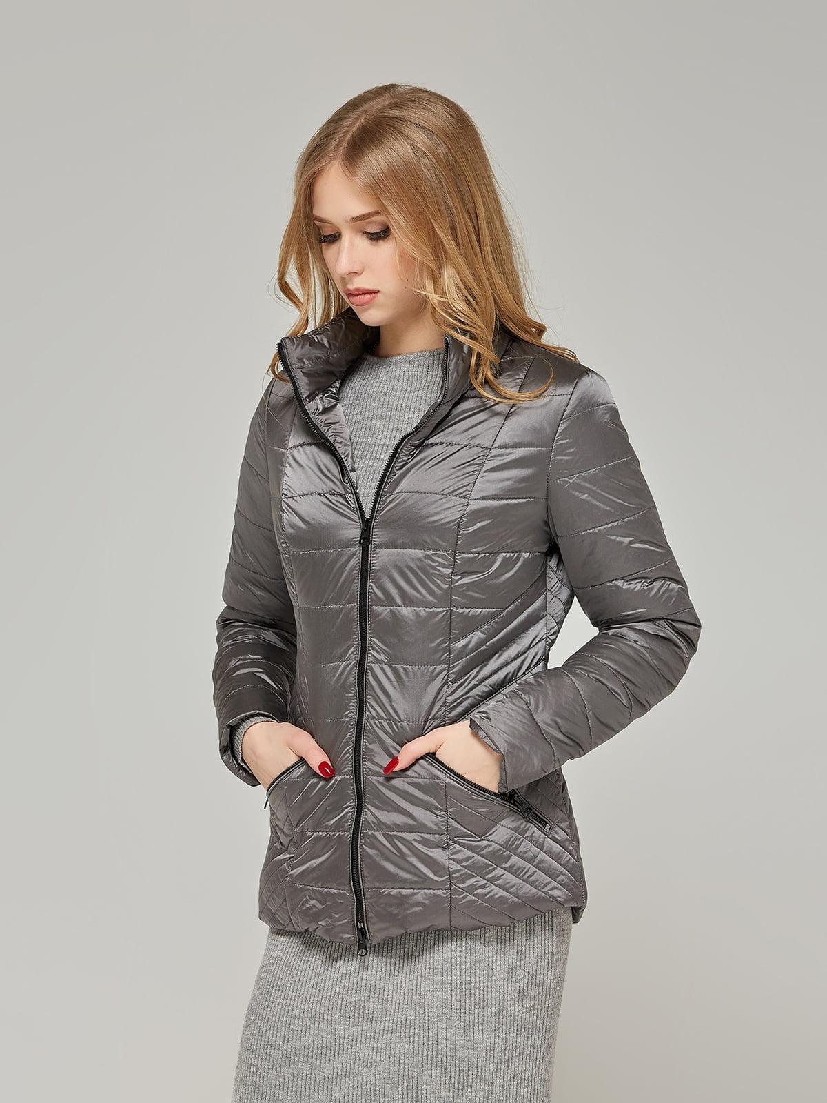 Куртка сіра | 5216119