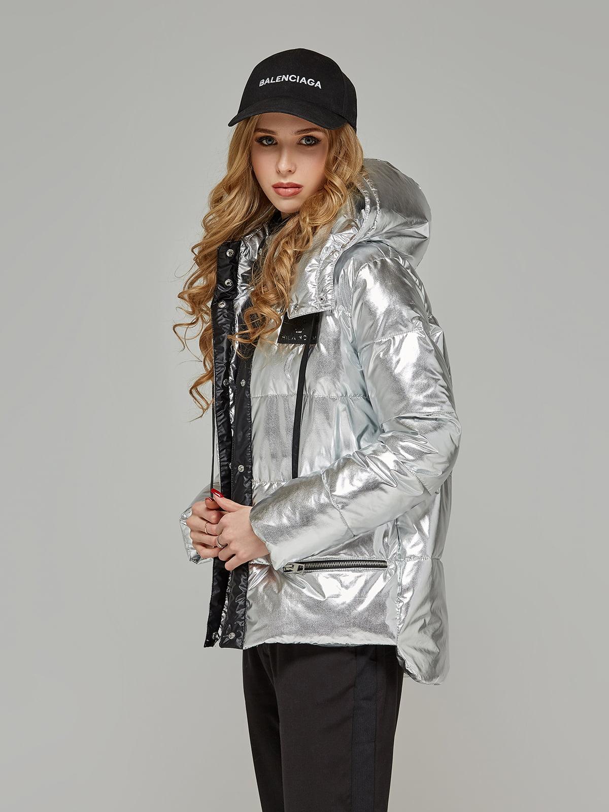 Куртка срібляста | 5216125