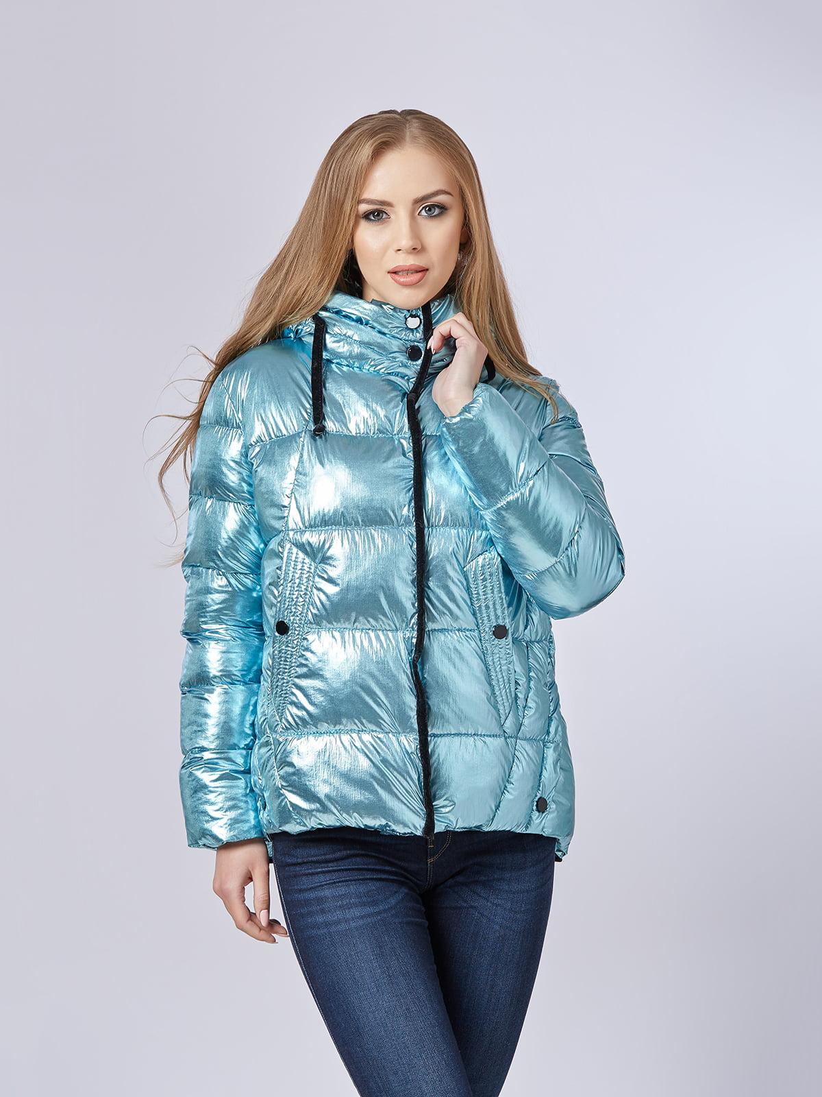 Куртка блакитна | 5216128