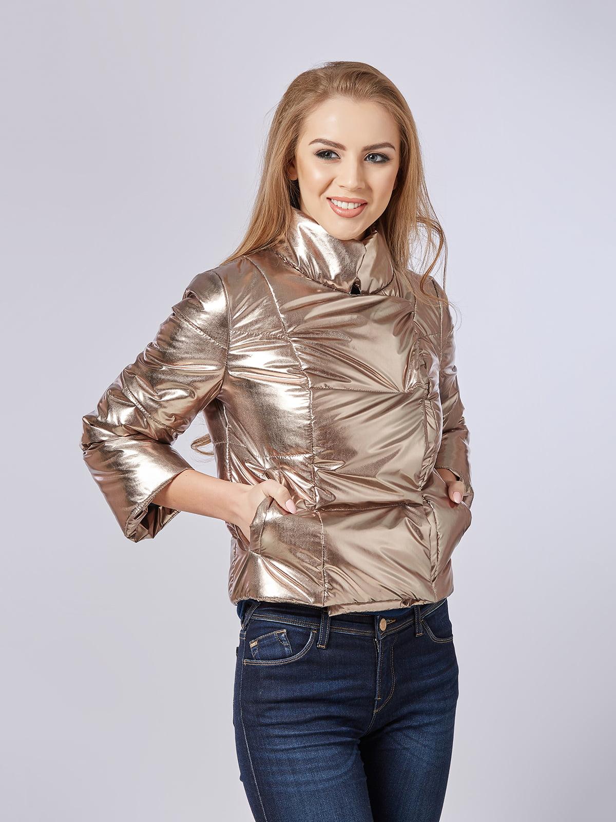Куртка золотистая | 5216183