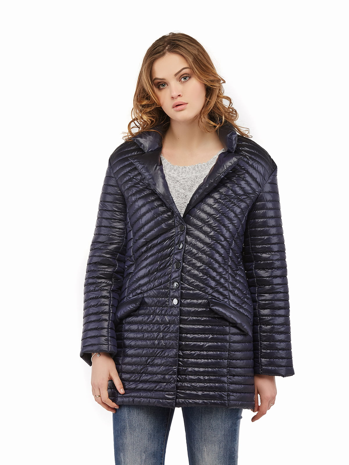 Куртка синя | 5216138