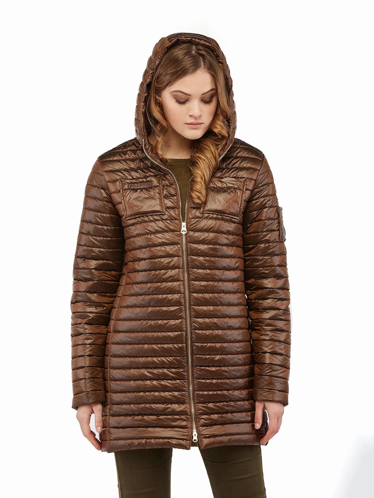 Куртка шоколадного кольору | 5216143