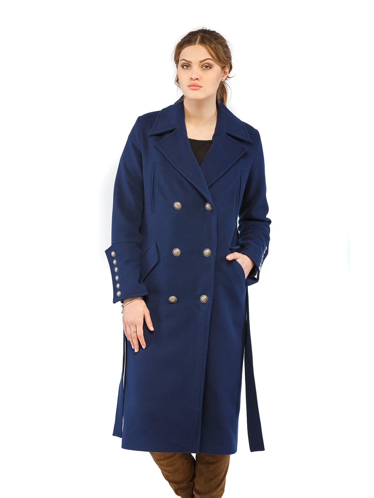 Пальто синє   5216162