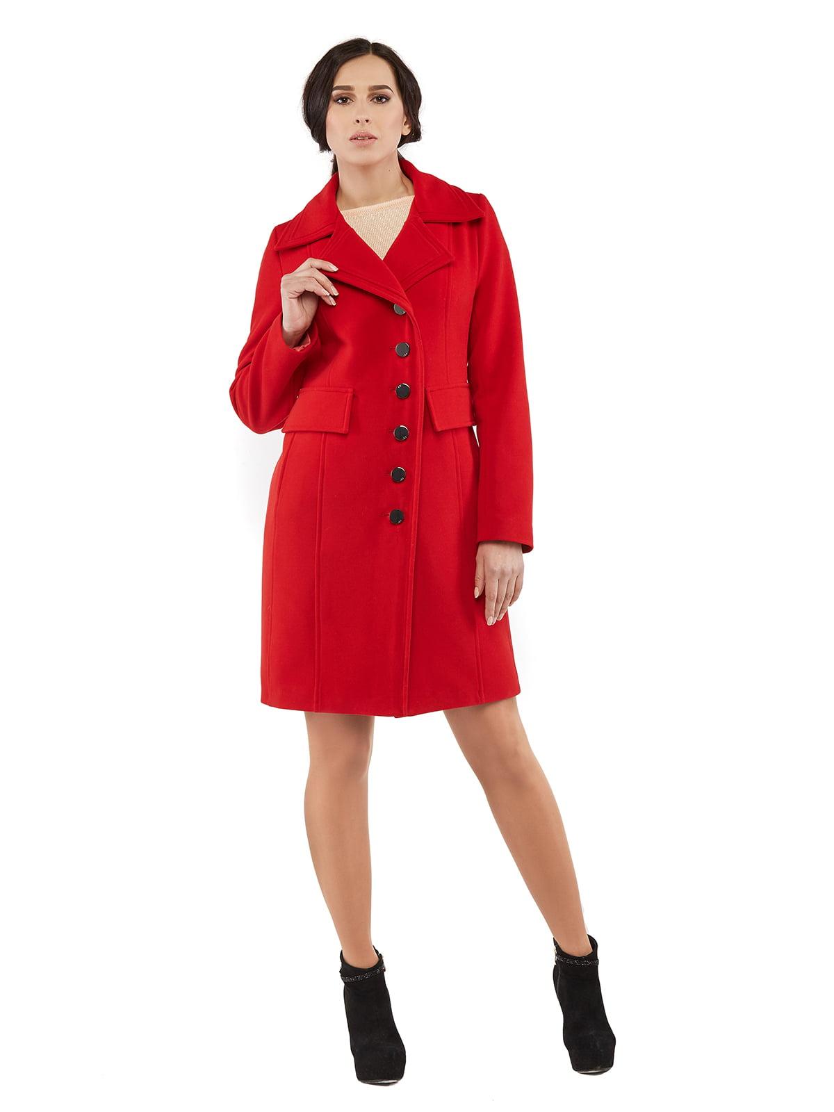 Пальто червоне   5216164