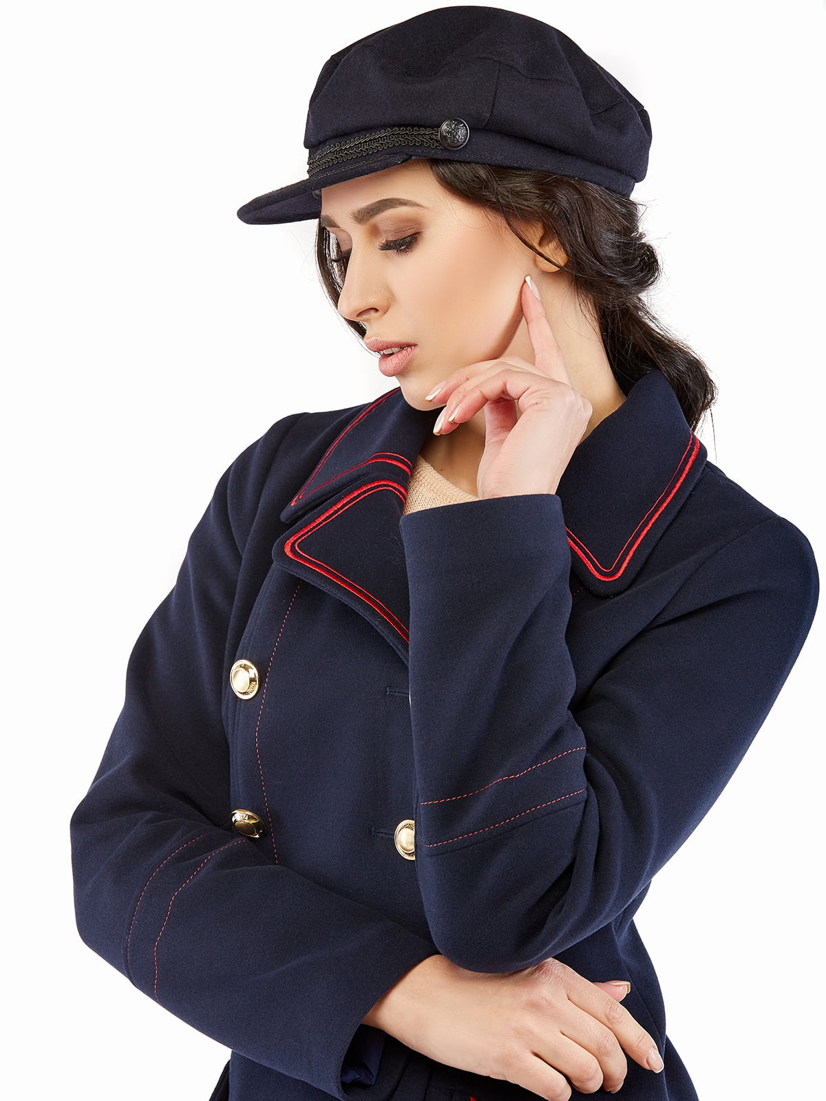Пальто синє | 5216168