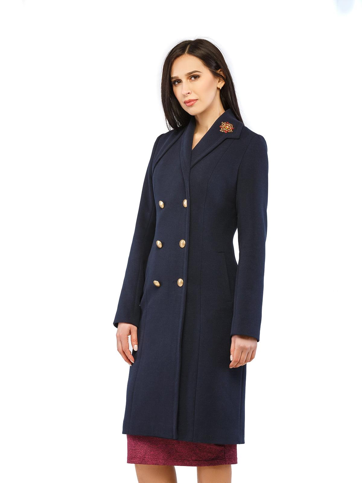 Пальто синє   5216170