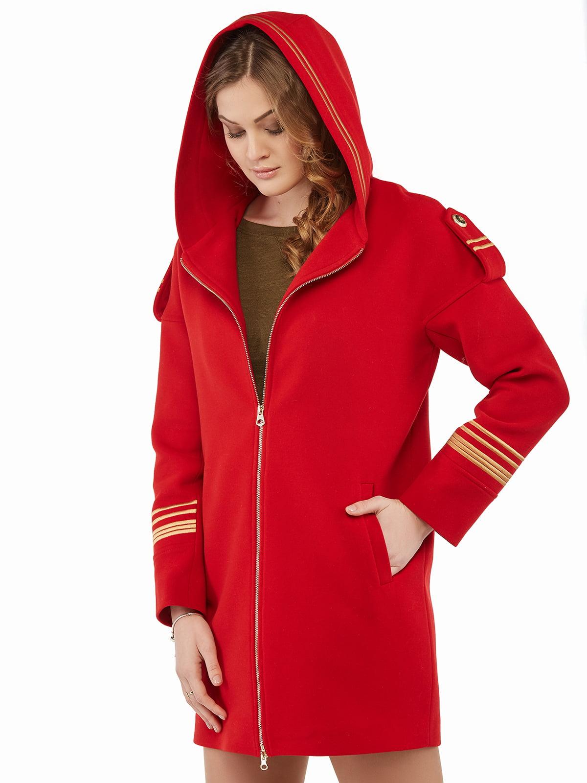 Пальто червоне   5216172