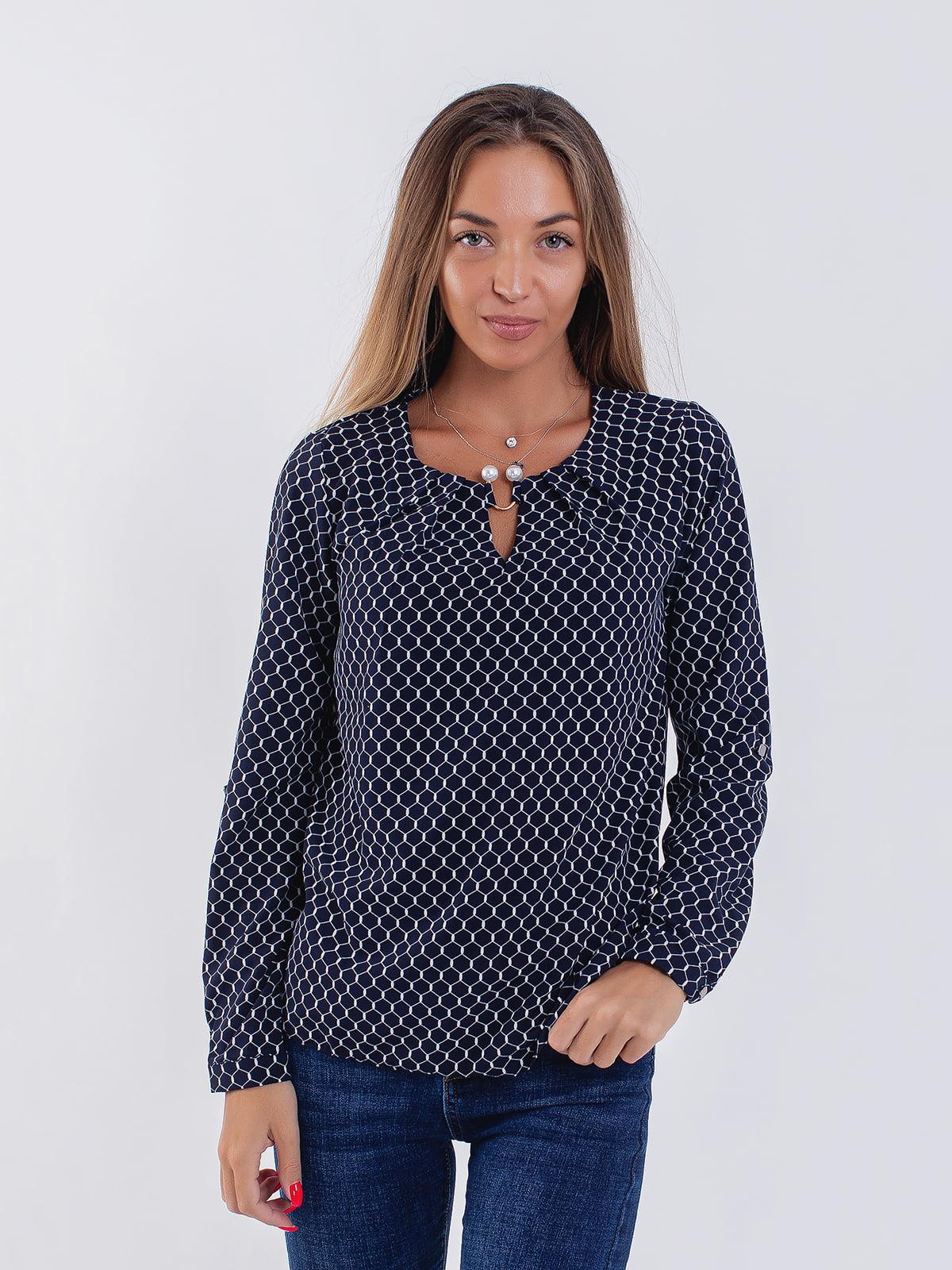 Блуза синя | 5216760