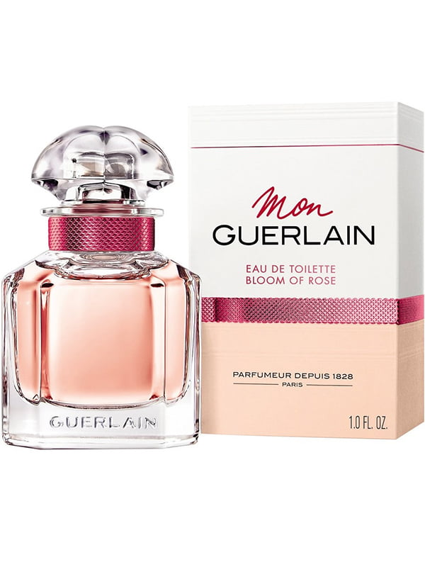 Туалетна вода Mon Guerlain Bloom Of Rose (30 мл) | 5217188