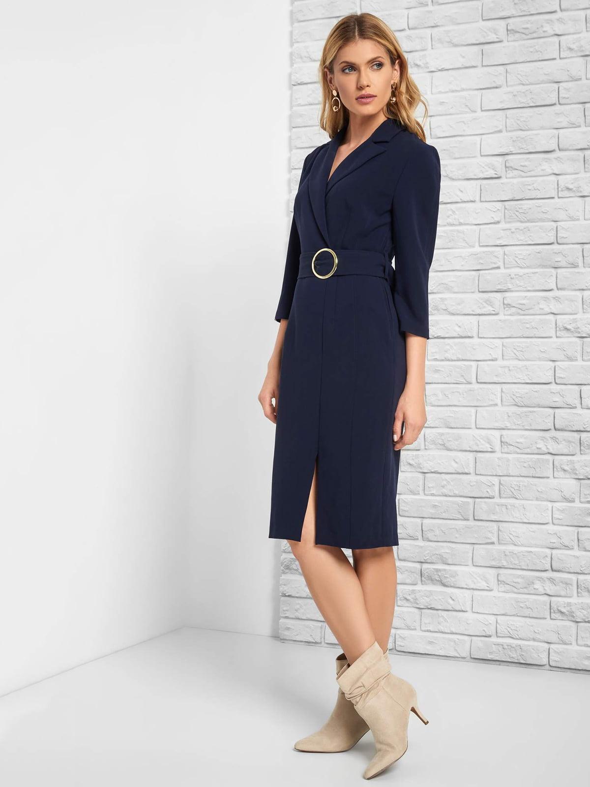 Платье синее | 5217528