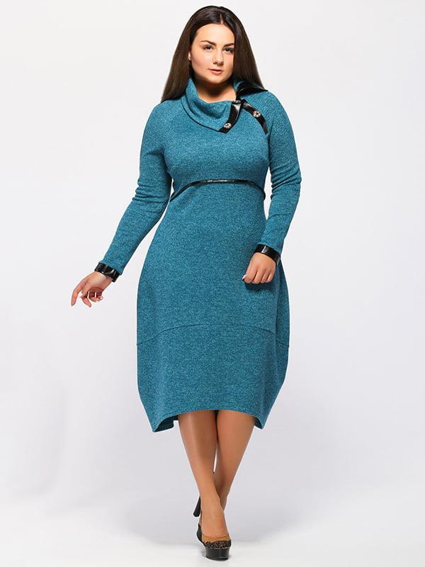 Платье зеленое | 5217593