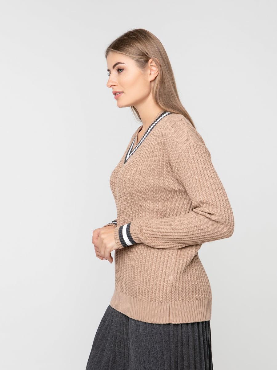 Пуловер карамельного цвета | 5217205