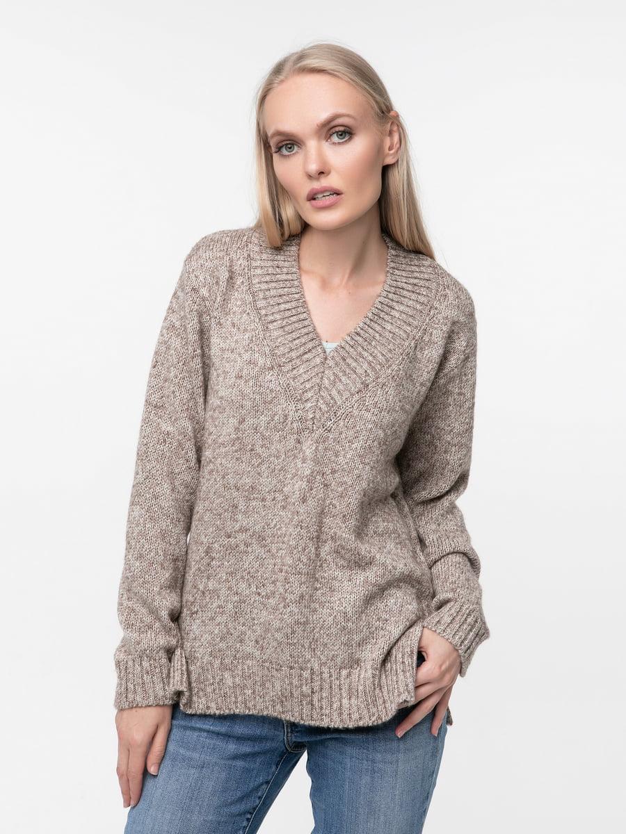 Пуловер бежевий | 5217209