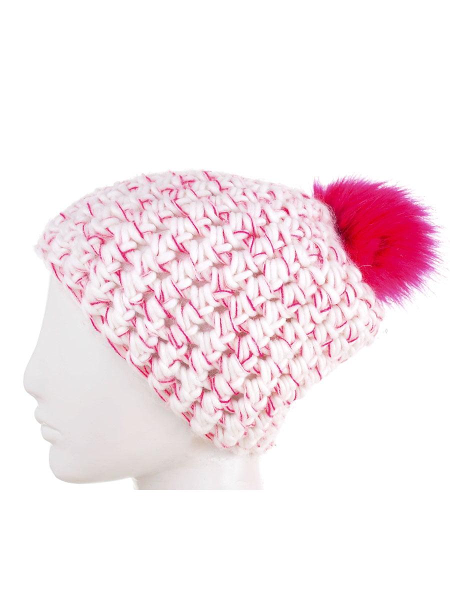 Шапка біло-рожева   5217883