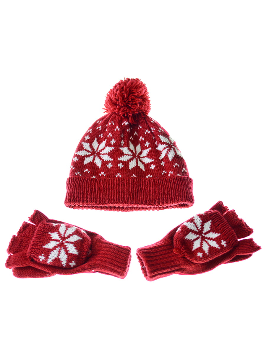 Комплект: шапка і рукавички   5217904