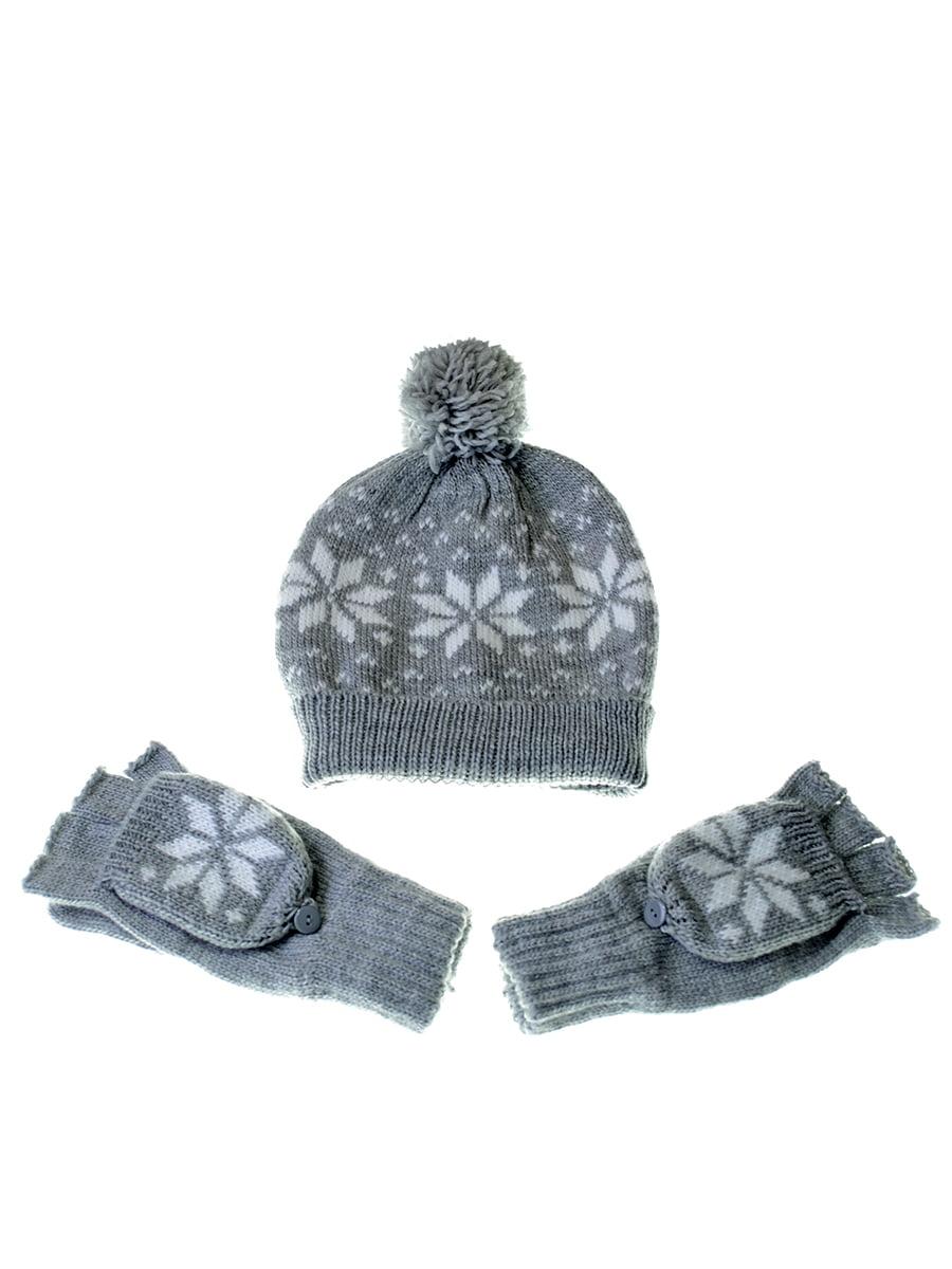 Комплект: шапка і рукавички | 5217905