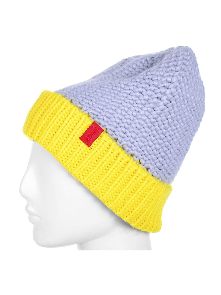 Шапка желто-серая | 5217982