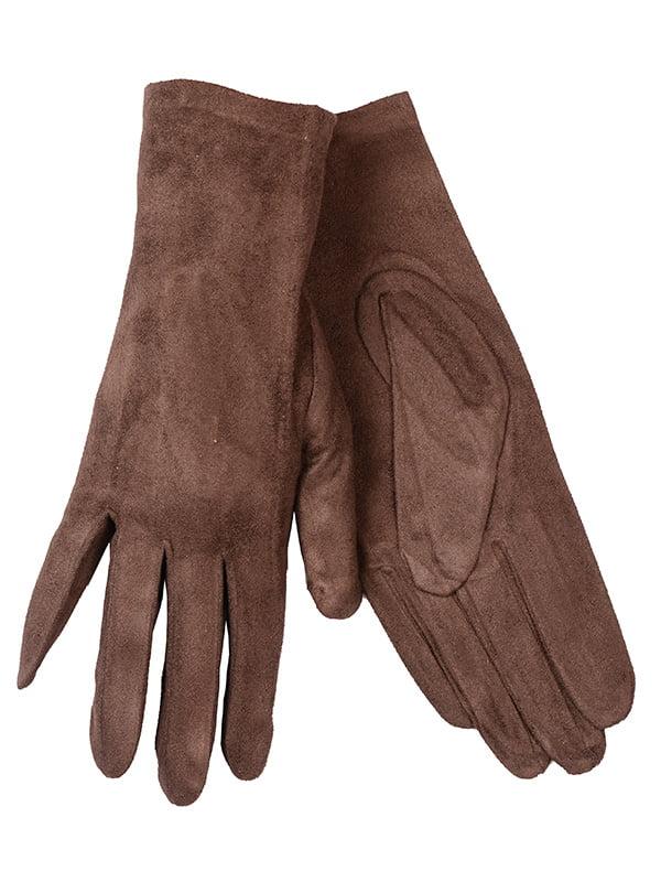 Рукавиці коричневі   5218059