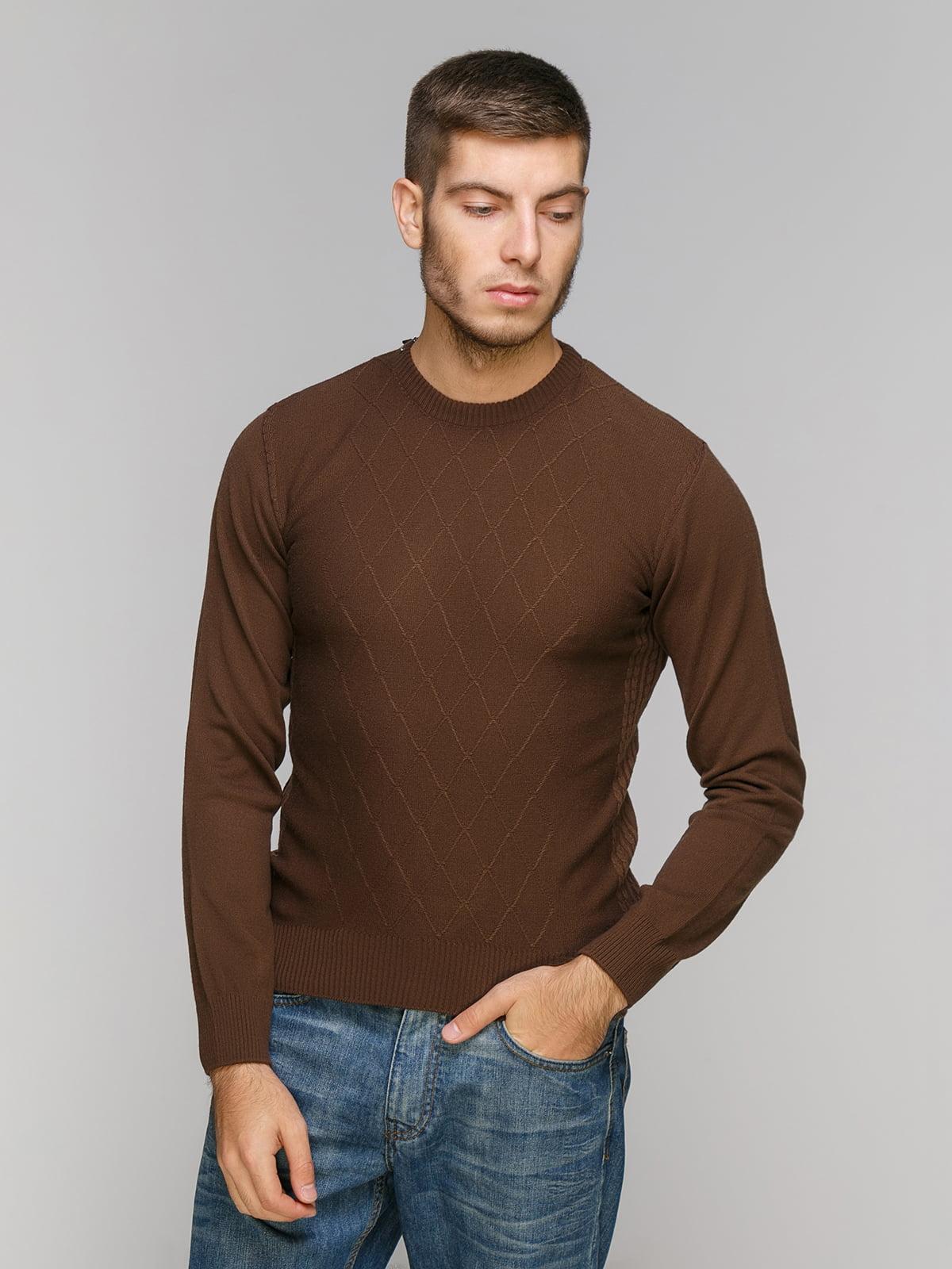 Джемпер коричневый | 5216219
