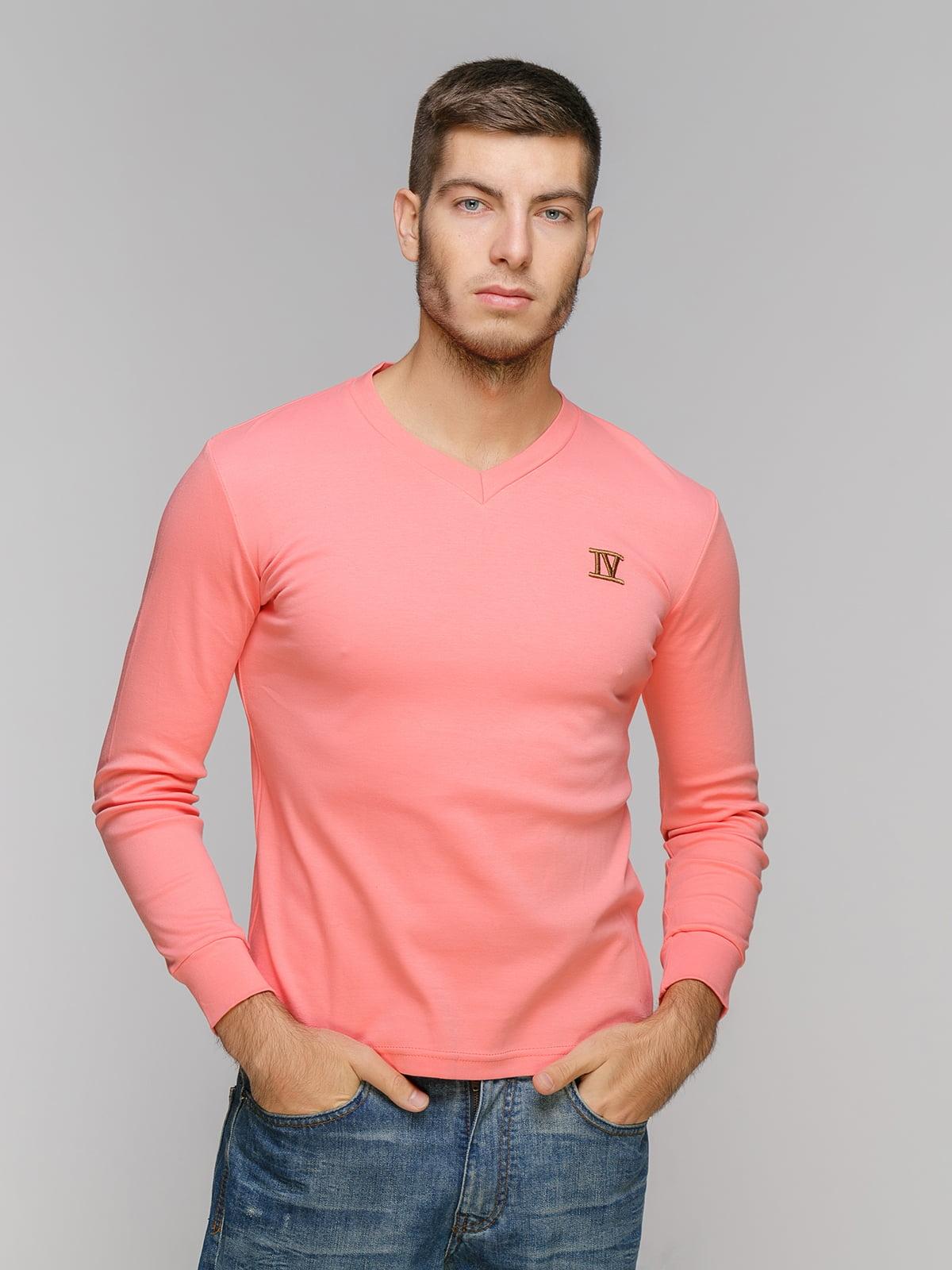 Пуловер абрикосового цвета | 5216213