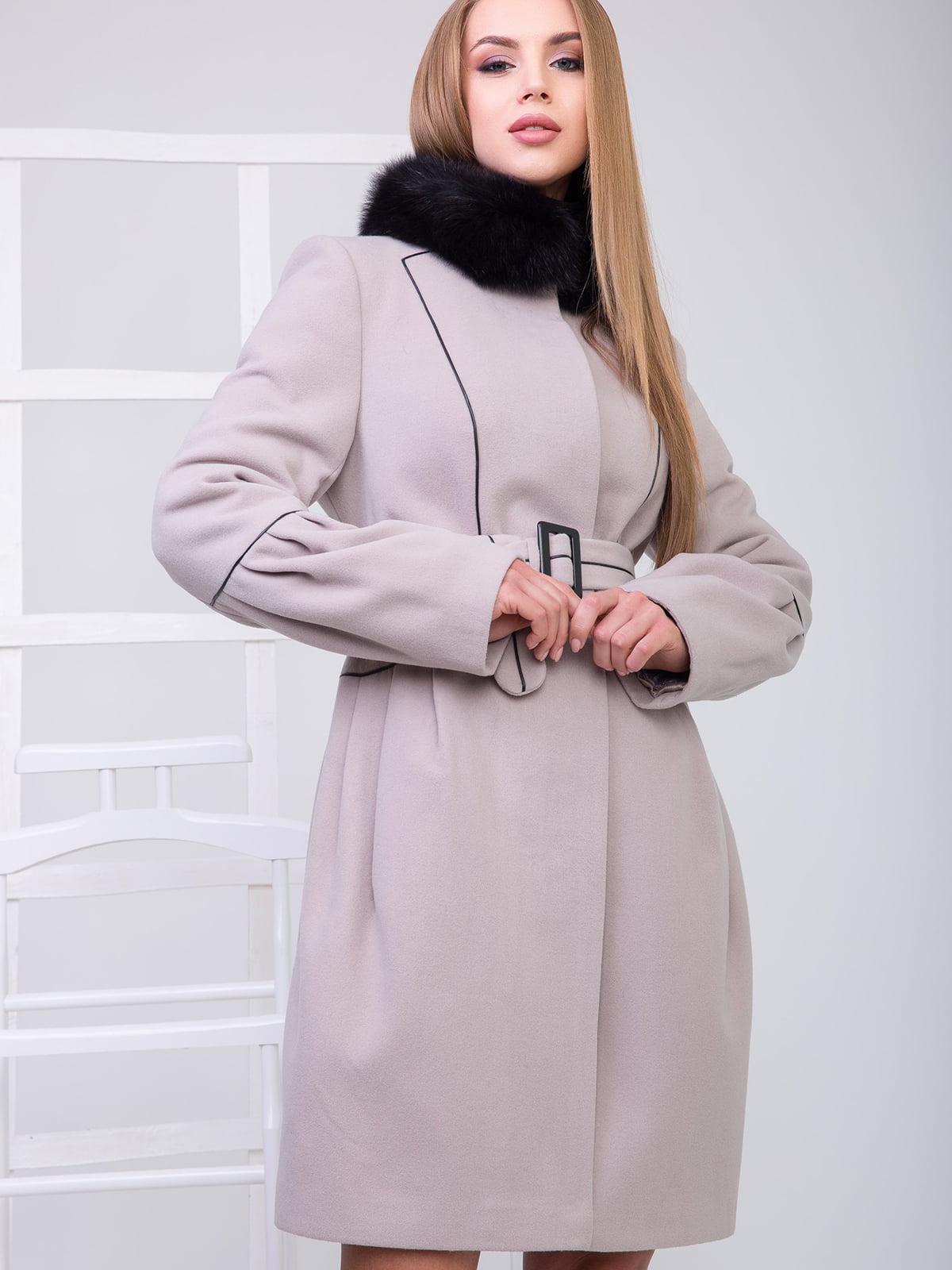Пальто бежевое | 5218961