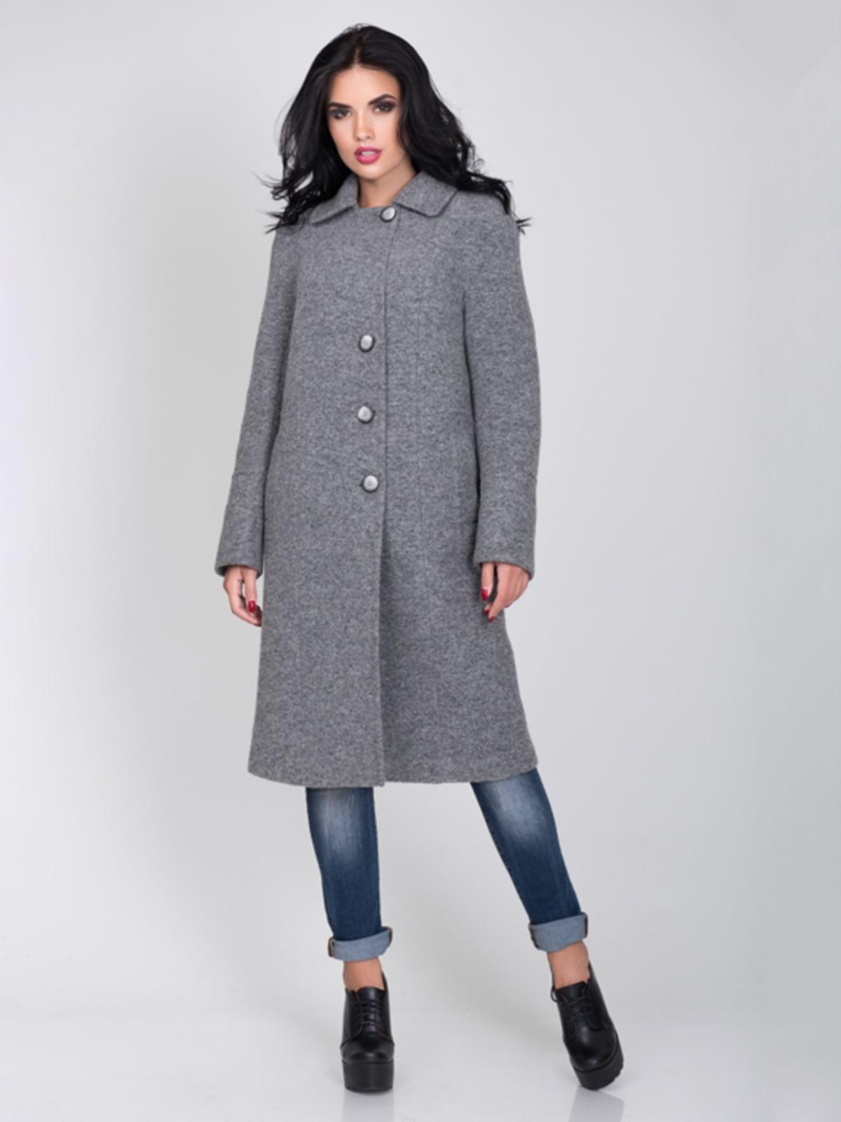 Пальто серое | 5218962