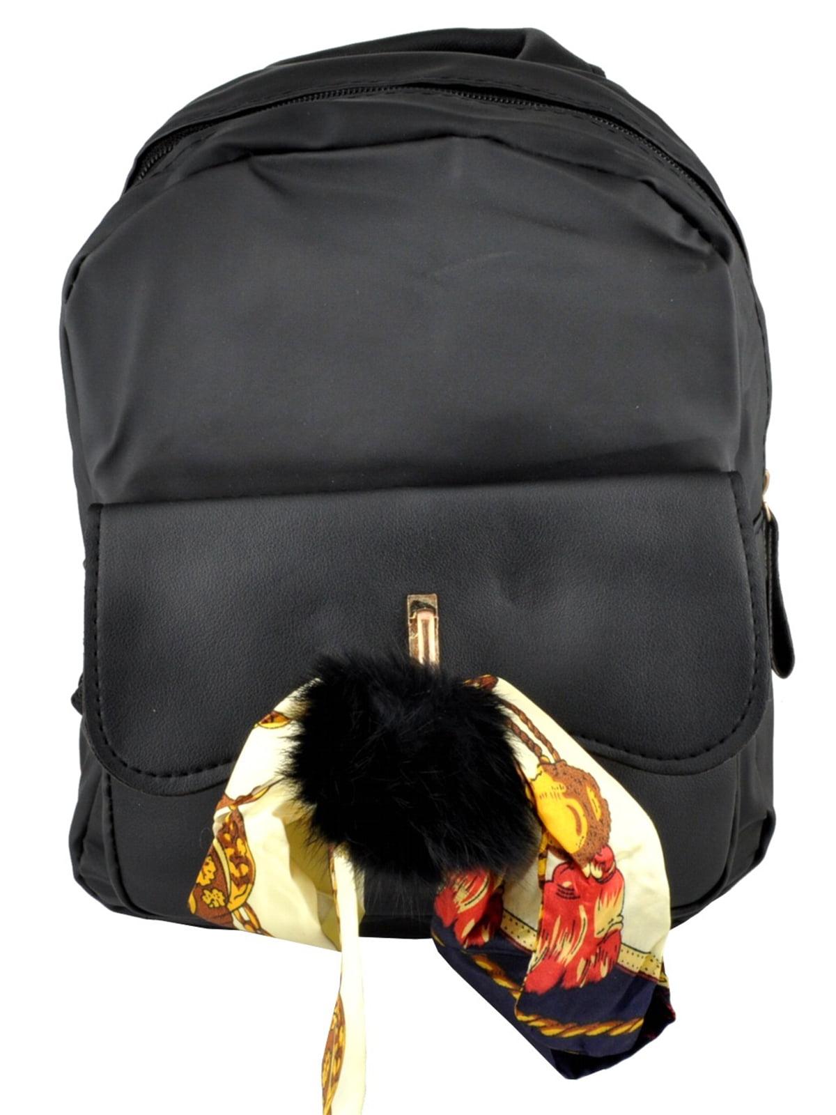 Рюкзак чорний | 5219466