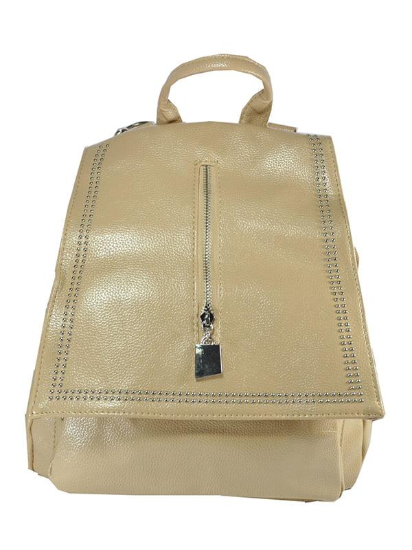 Рюкзак молочного кольору | 5219472