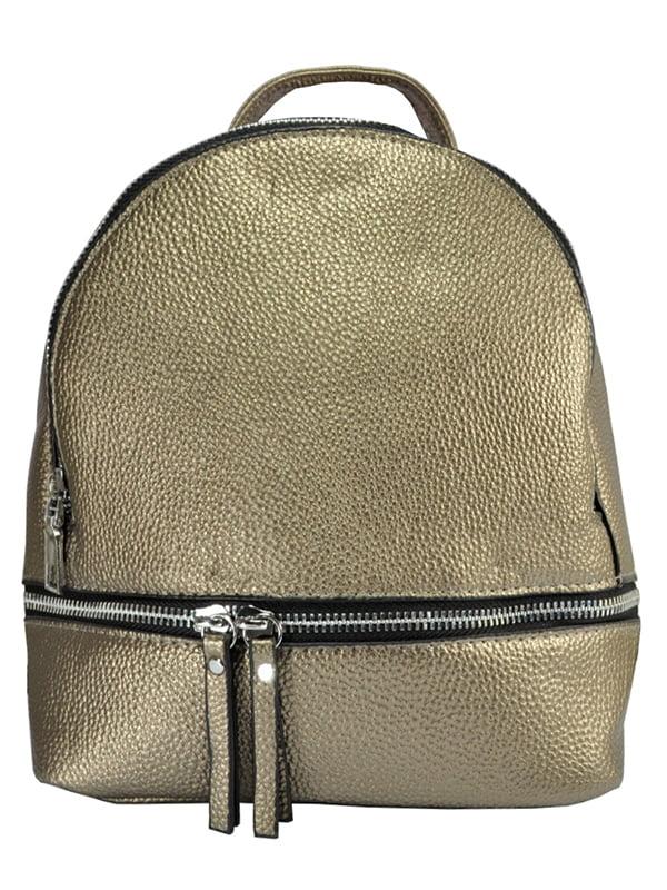 Рюкзак золотистий | 5219480