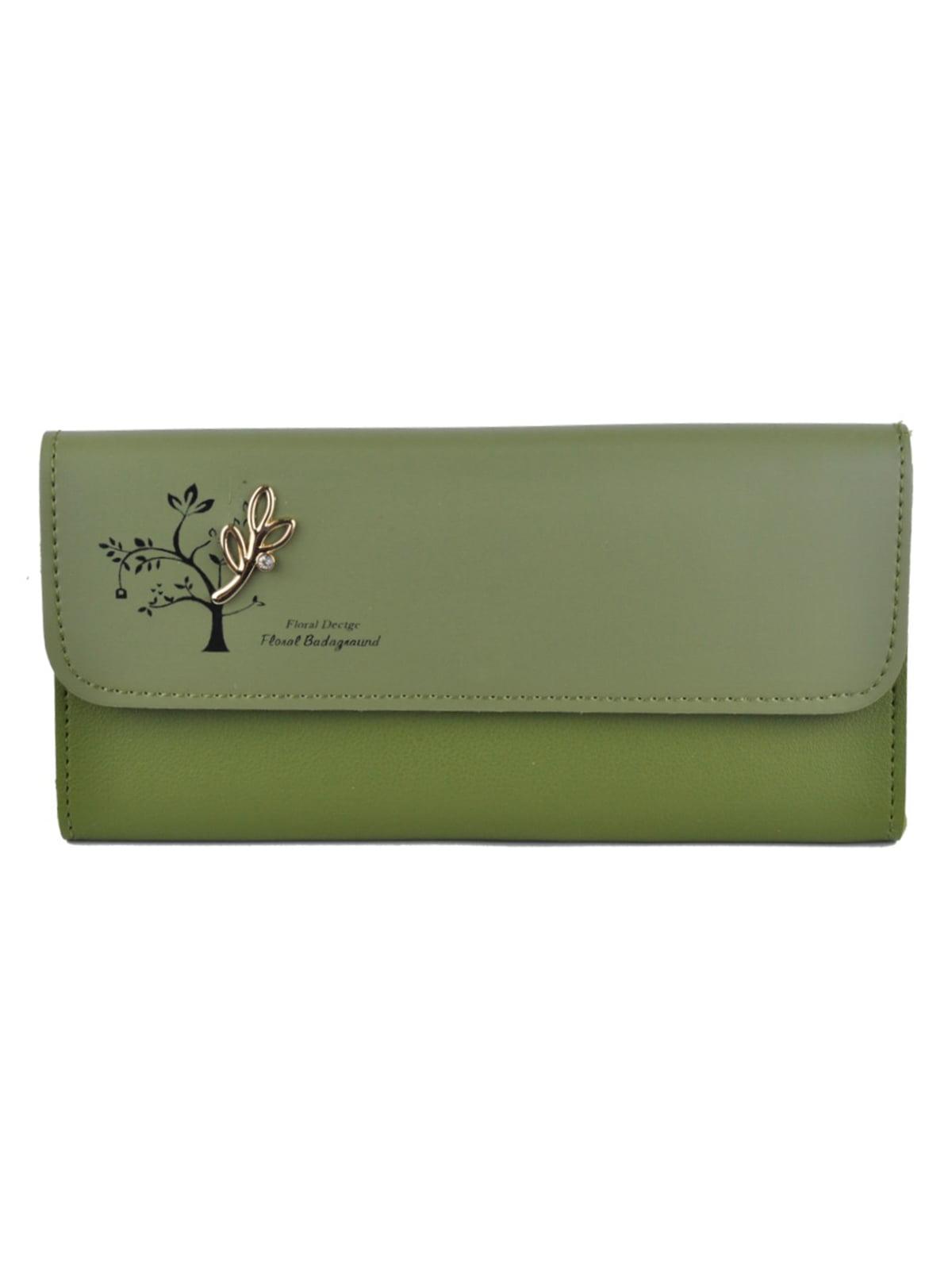 Гаманець оливкового кольору | 5219581
