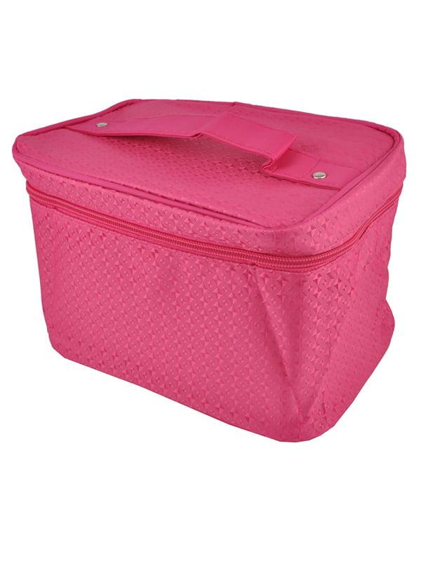 Косметичка рожева | 5219714