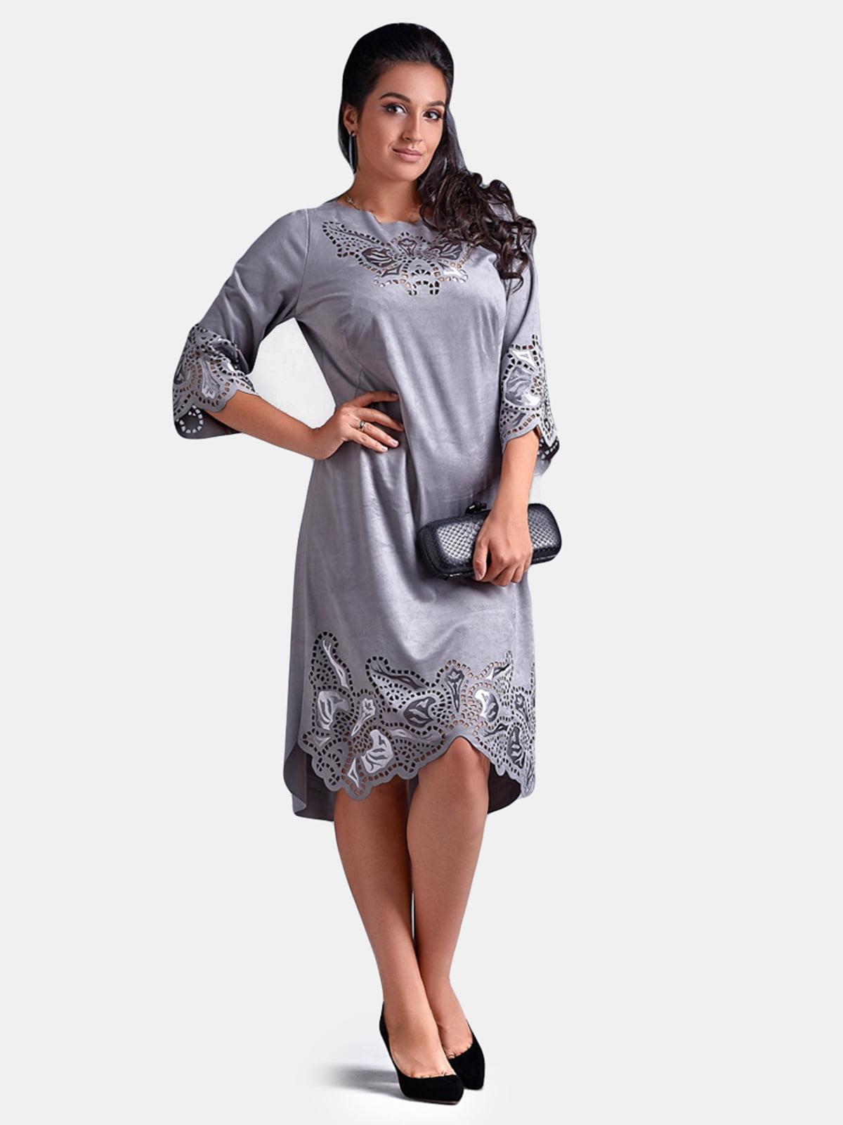 Платье серое | 5219807