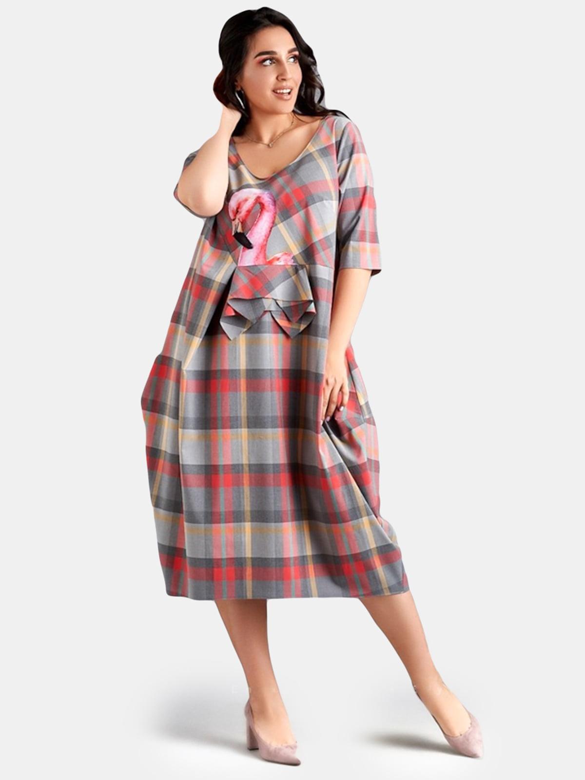 Платье серое   5219814