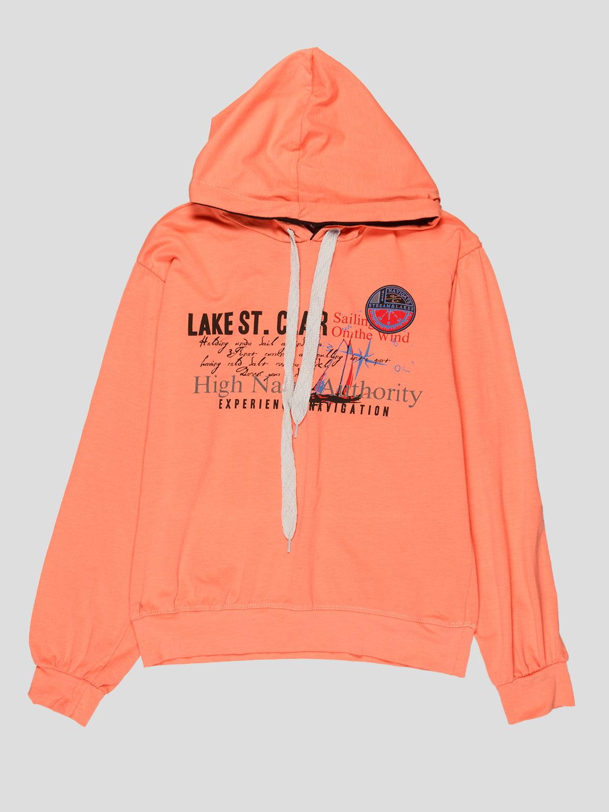 Худи абрикосового цвета   5216207