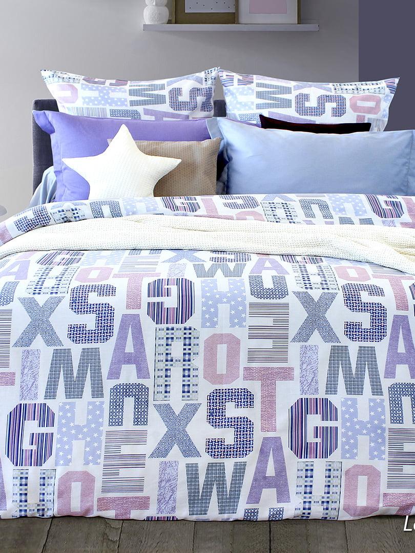 Комплект постельного белья двуспальный (евро) | 5180936