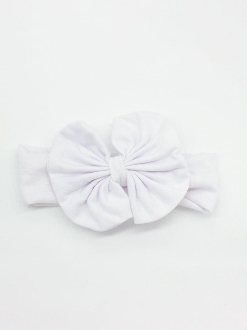 Повязка на голову белая | 4679011