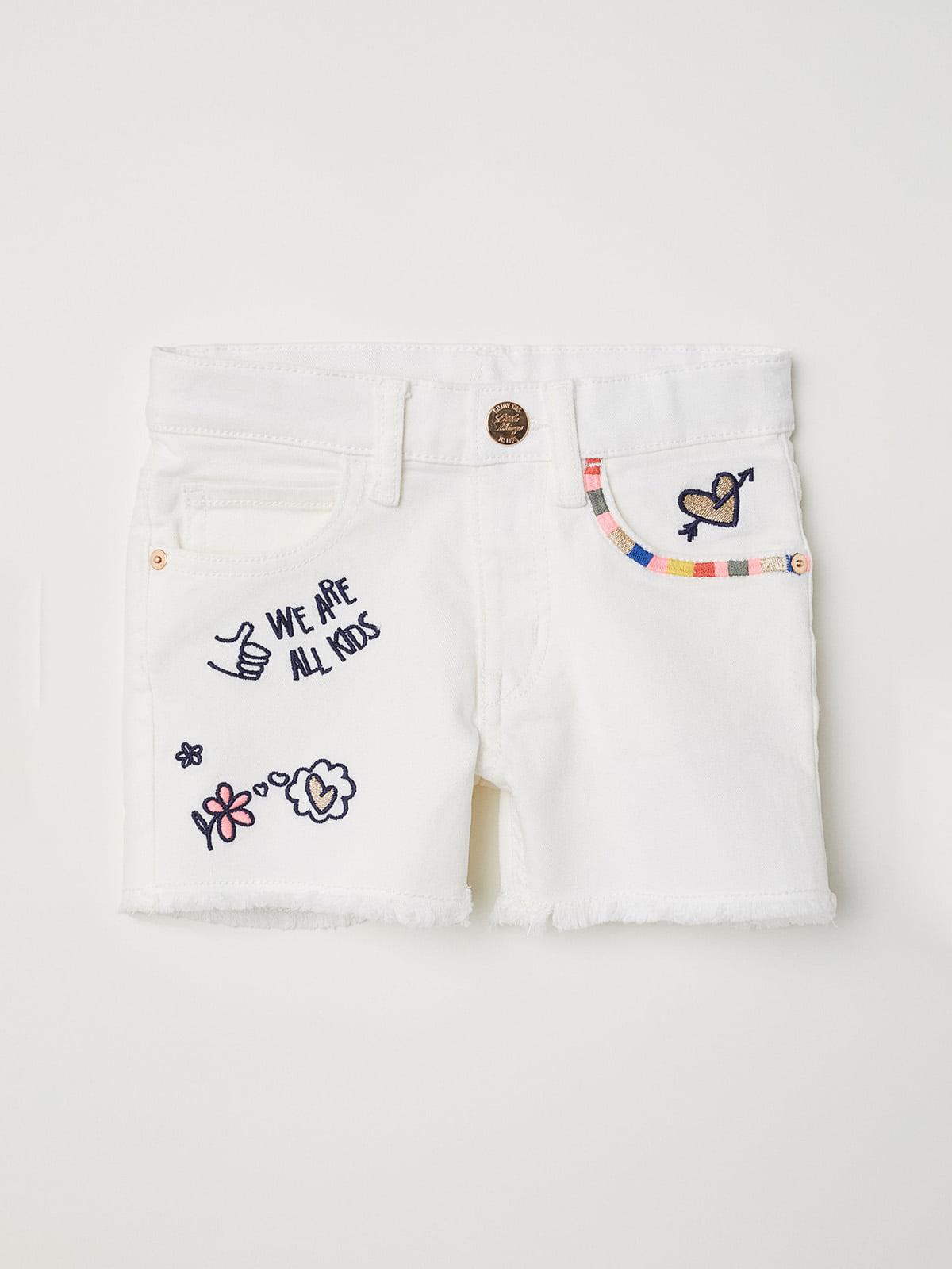 Шорты джинсовые белые | 5217132