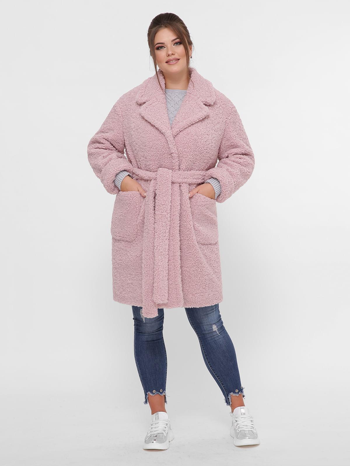 Пальто рожеве | 5224200